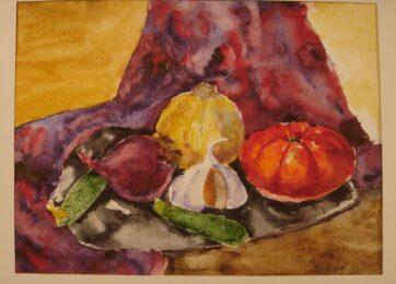 28-Натюрморт из фруктов