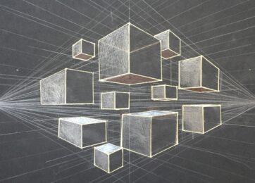 31-Перспектива кубов